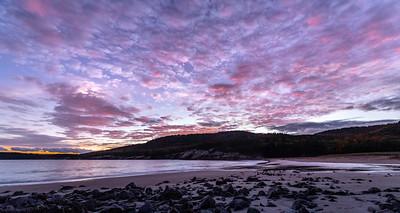 Sunset at Sand Beach