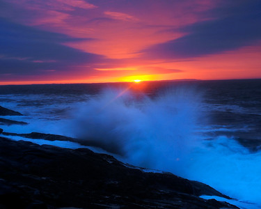 Pemaquid Point Sunrise - Acadia National Park, Maine - John Remy - August 2010