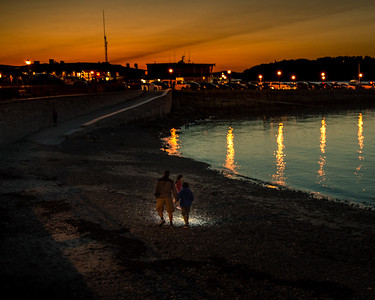 Evening Beachcombers