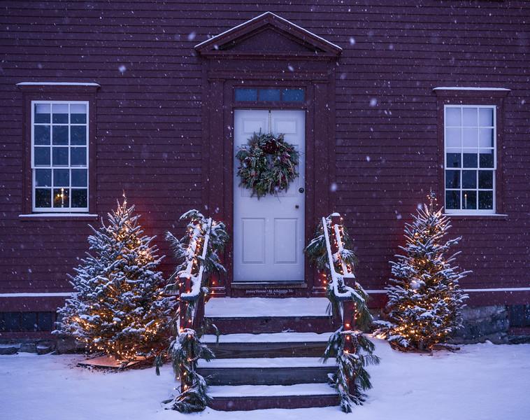The Jones House at Strawberry Bank - Christmas 2017