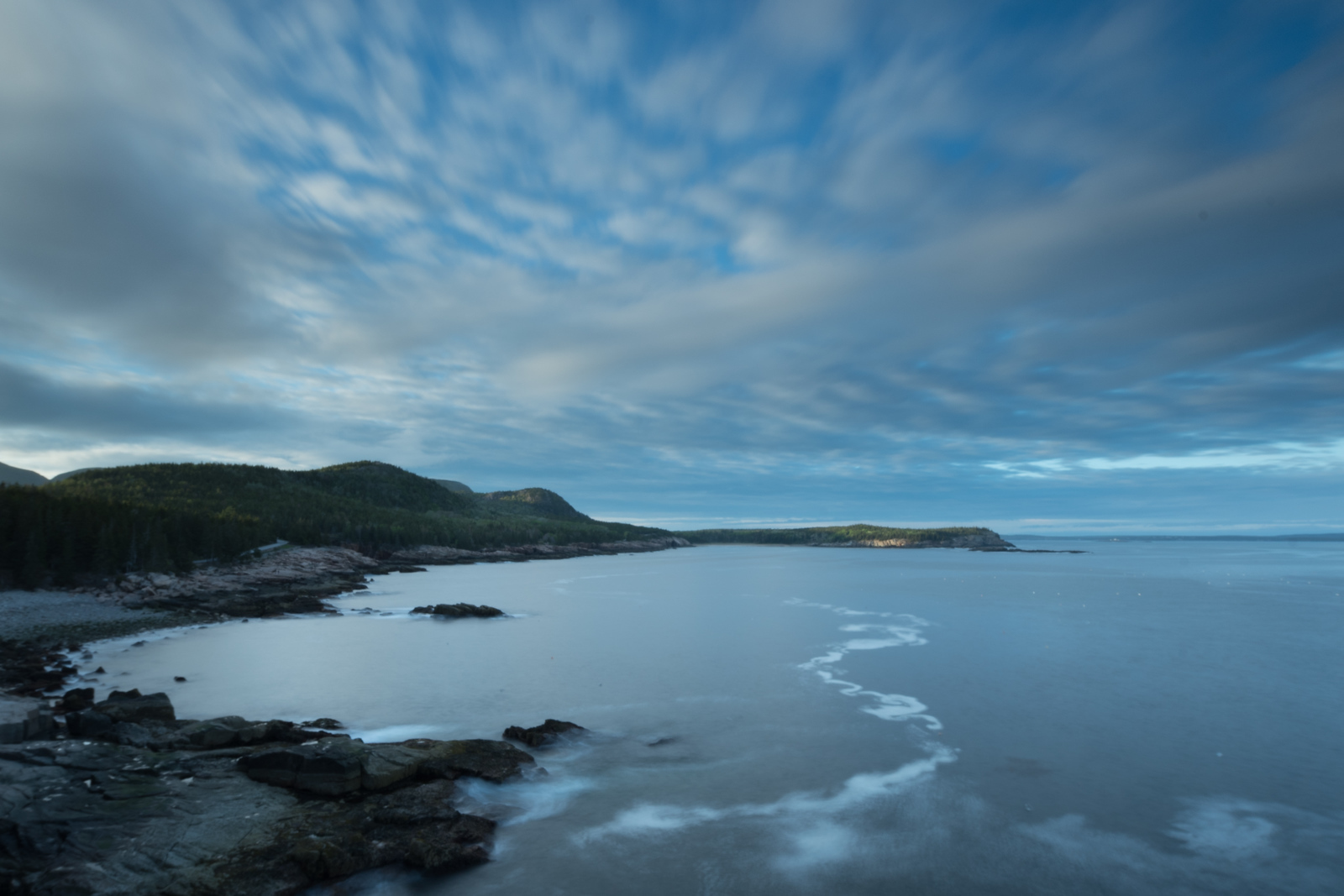"""Acadia just before sunset (""""My blue heaven"""")"""
