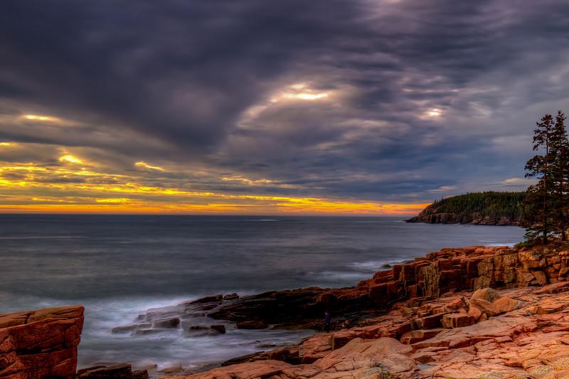 Two Photographers, Acadia National Park