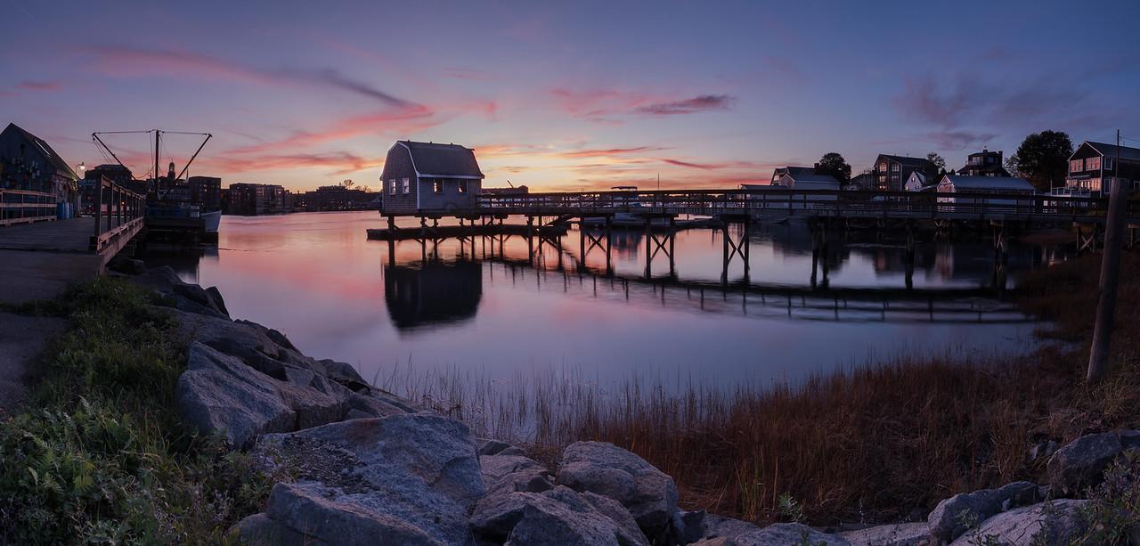 Badger Island October Sunset