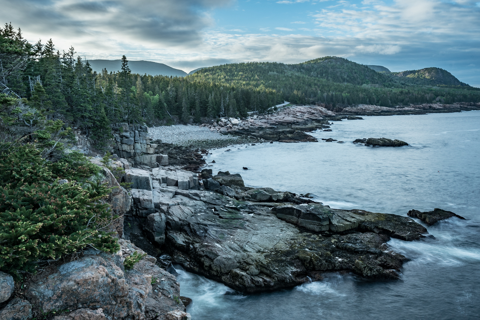 Rocky Coastline - Otter Cliffs