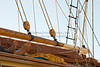 """Sleeping Sail Crew,"" color photo"