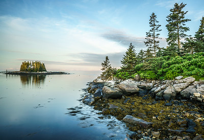 Island and Vegetation / Boothbay Region, Maine