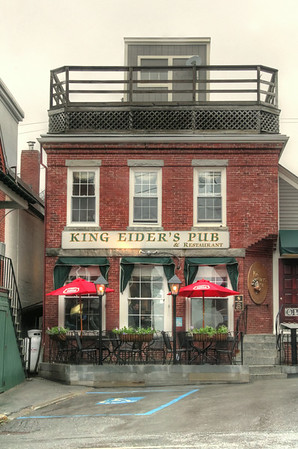 King Eider's Pub in Damariscotta, Maine.