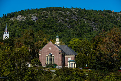 Camden Library - Mt. Battie Tower