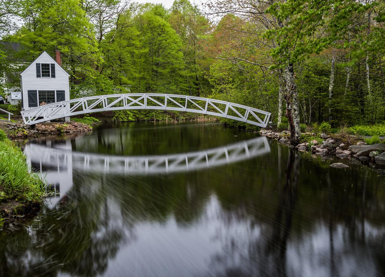 Somesville Village Footbridge