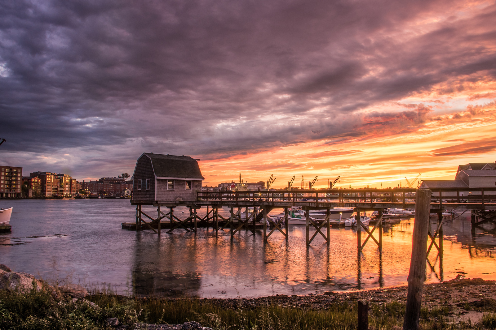 Sunset Badger Island