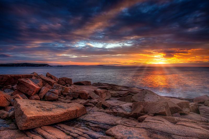 Sunrise with Sunrays