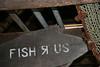 """Fish R Us, Monhegan Island, Maine,"" color photo"