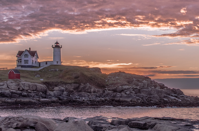 Nubble Light sunrise - also, October 7th