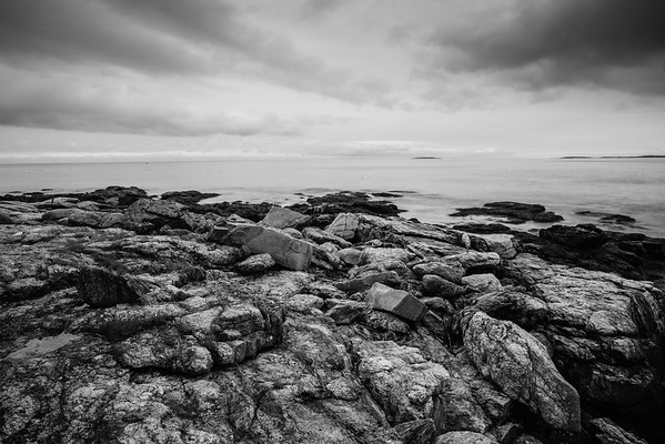 Rocky Shore  - Boothbay Region, Maine