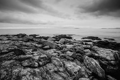 Rocky Shore  / Boothbay Region, Maine