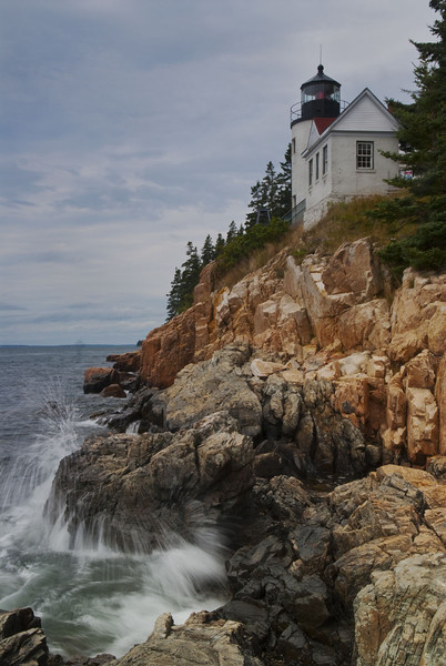 Bass Harbor Lighthouse - Maine Coast - Doug Beezley - August 2010