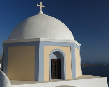 Church Dome-Santorini