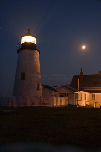 """Pemaquid Lighthouse in Moonlight"""