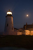 """Pemaquid Lighthouse in Moonlight"""