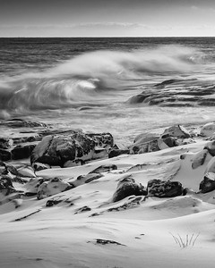 Winter Waves (after the blizzard on Christmas Day)