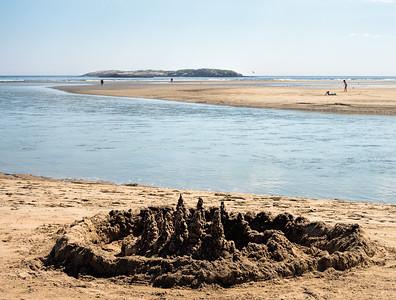 Low Tide at Popham Beach, Phippsburg, Maine  (80042)