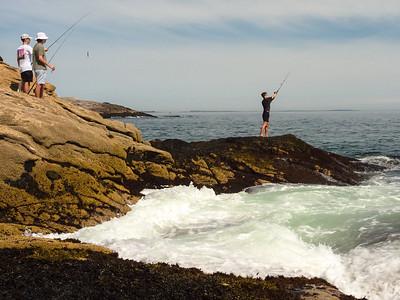 Fishing the Coast, Georgetown, Maine  (90116)