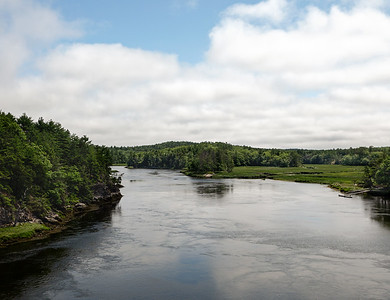 Back River, Arrowsic, Maine  (40031)