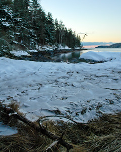 Winter Dawn, Cundys Harbor, Maine (5037-5039)