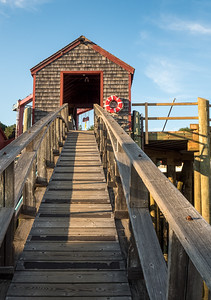 Ramp and Shed, Rockport Harbor, Maine (80490)