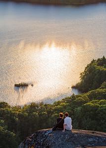 Sunset Couple, Camden, Maine (43980)