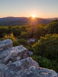 Sunset, Mt. Battie, Camden, Maine (33788-33791)