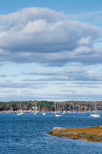 Autumn Afternoon, South Freeport, Maine  -300072