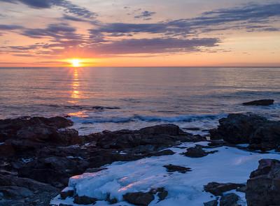Frozen Dawn, Oqunquit, Maine (31135)