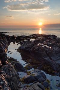 Sunrise at East Point Sanctuary, Biddeford Pool, Maine  (00053)