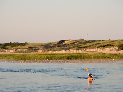Kayaker, Ogunquit, Maine  (10081)
