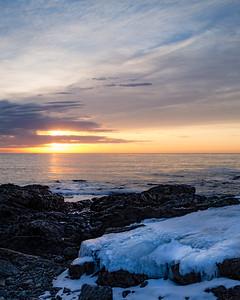 Frozen Daybreak, Ogunquit, Maine (31138)