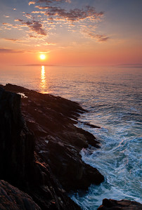Dawn on the Maine Coast (6511)