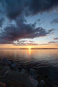 The Sun's Last Rays, Harpswell, Maine  (00045)