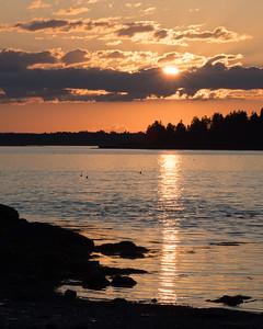 Sunset, Harpswell, Maine  (90025)