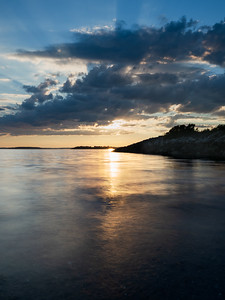 Early Evening, West Harpswell, Maine  (00018-00020-V)