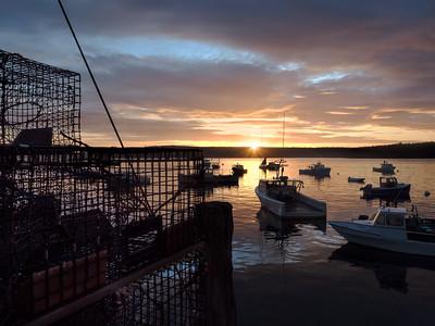 Sunrise, Cundys Harbor, Maine  (80085)