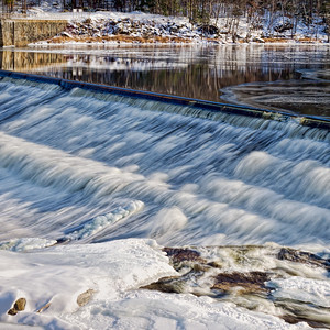 Rumford Falls, Rumford, Maine  88220-sq
