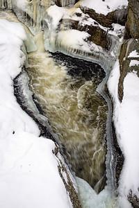 Snow Falls Stream, West Paris, Maine (88258)