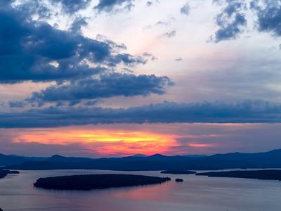 Big Sky above Mooselookmeguntic Lake, Rangeley, Maine (63433-alt)