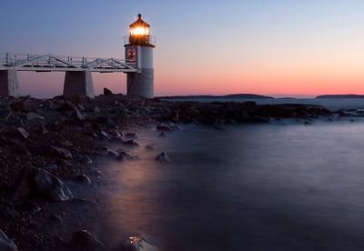 Marshall Point Lighthouse Sunset 8954