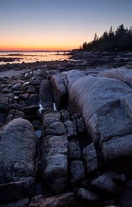 Rocky Coast Sunrise (7726-7730)