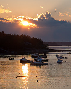 Port Clyde Harbor, St. George, Maine (8596)