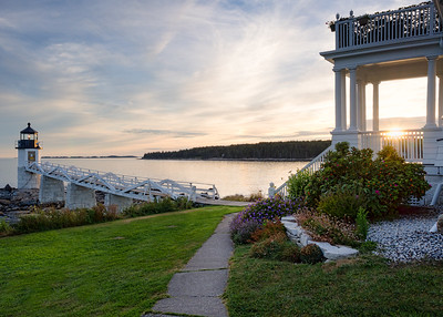 Marshall Point Lighthouse, Port Clyde, Maine (87379-87380)