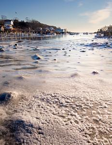Frozen Morning, New Harbor, Bristol, Maine (81413-81415)