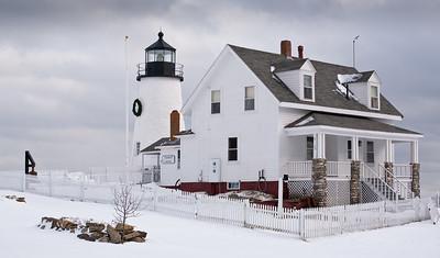Winter, Pemaquid Point Lighthouse, Bristol, Maine (4353)
